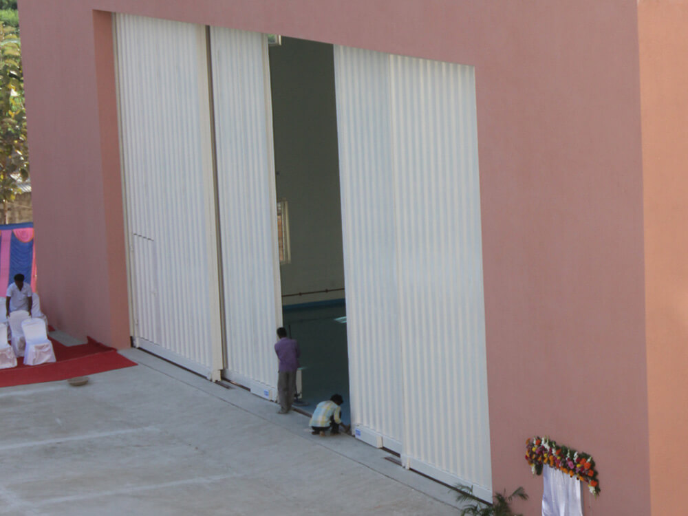 Steel Sliding Hangar Door