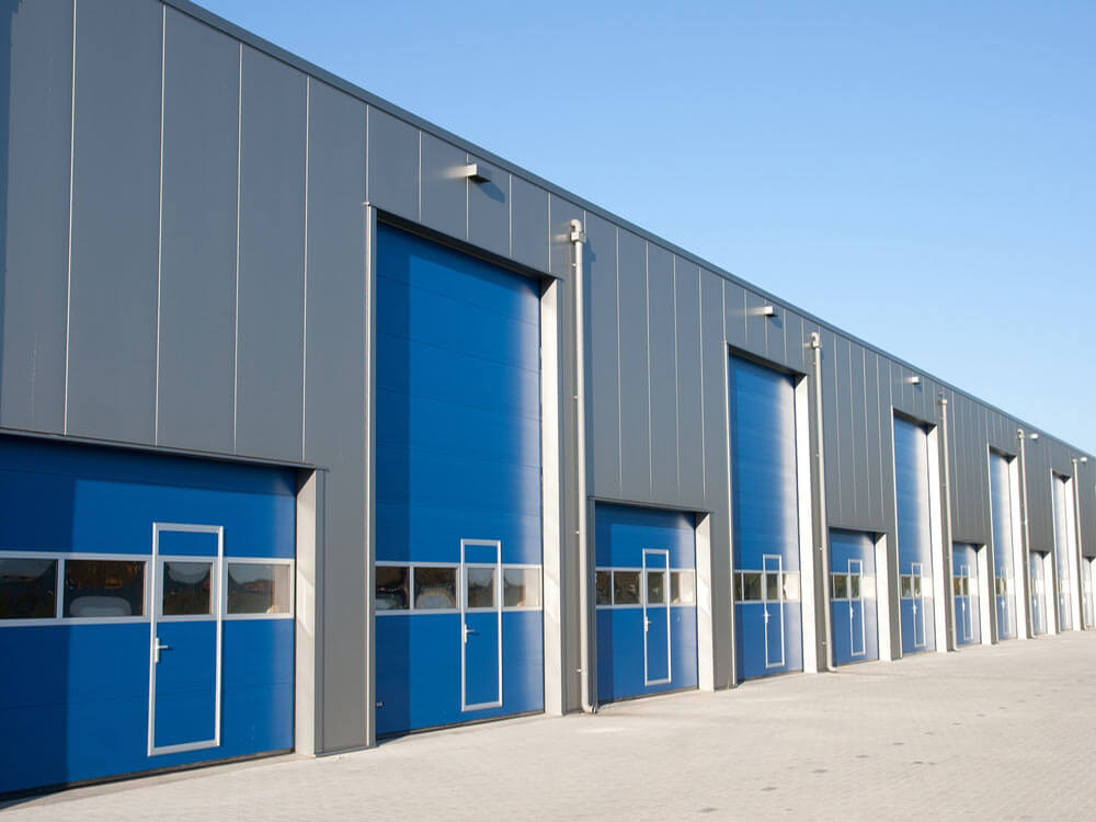 Industrial Sectional Overhead Doors Manufacturers India