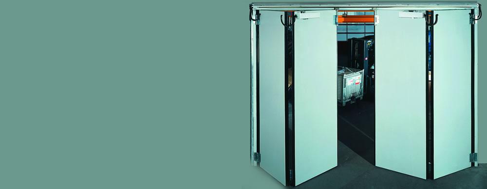 Folding Door Suppliers : Automatic insulated doors folding door manufacturers india