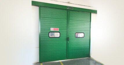 Industrial Door Systems   Motorised Rolling Shutters   Entrance